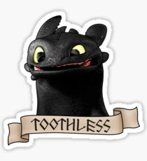Toothless Smile Sticker