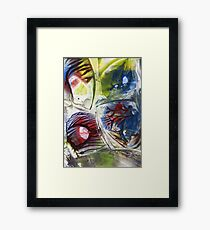 Engage your mind Framed Print