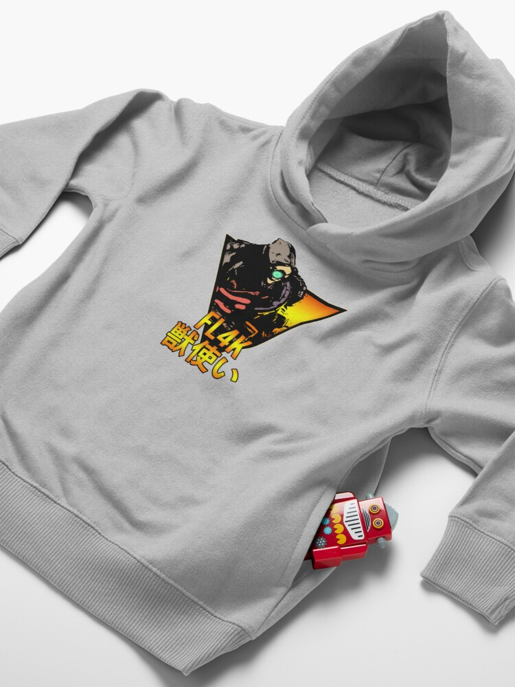 Alternate view of Retro FL4K! Toddler Pullover Hoodie