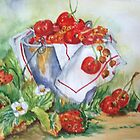 Frutos vermelhos by ISABEL ALFARROBINHA