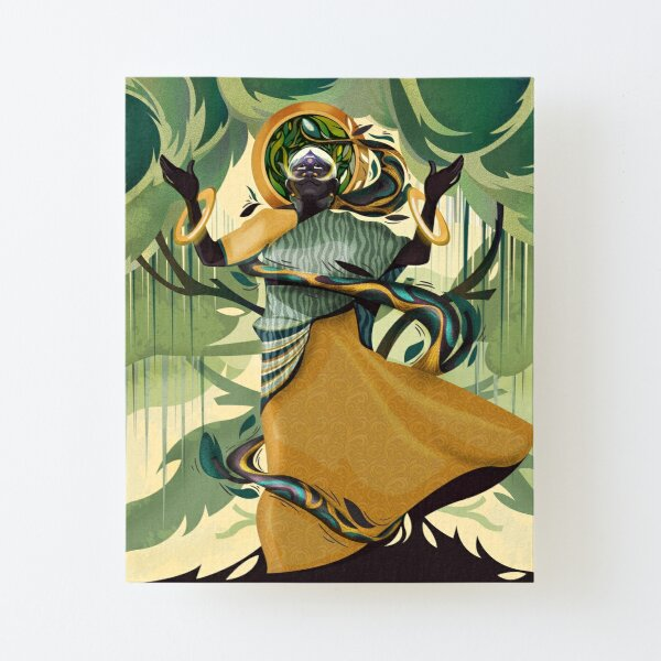 Mother of Trees Canvas Mounted Print