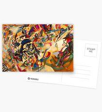 Kandinsky - Composition No. 7 Postcards