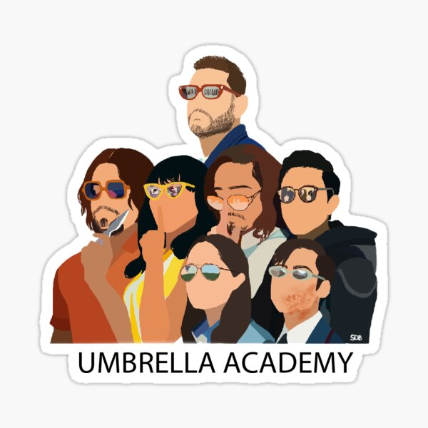 Umbrella Academy Sticker