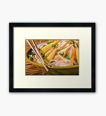 Chinese Dinner Framed Print