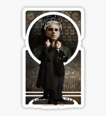 Sherlock Holmes ART NOUVEAU Sticker