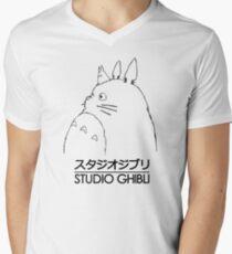 Studio Ghibli Totoro Men's V-Neck T-Shirt
