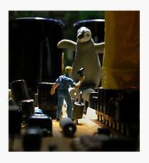 Infestation- penguin Photographic Print