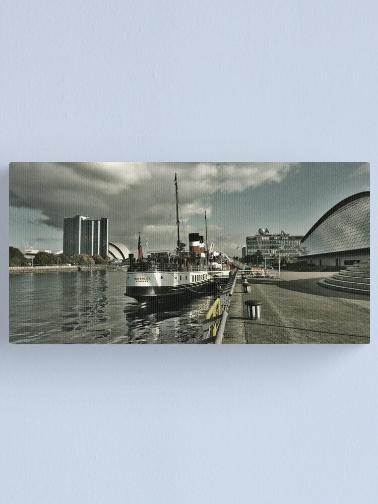 Alternate view of Waverley Glasgow Canvas Print