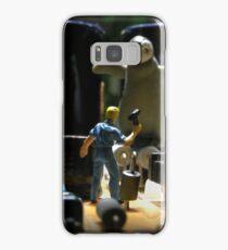 Infestation- penguin Samsung Galaxy Case/Skin