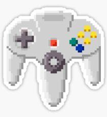 8Bit N64 Sticker