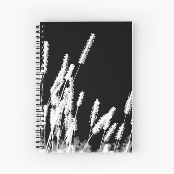 Moonlight Meadowgrass Spiral Notebook