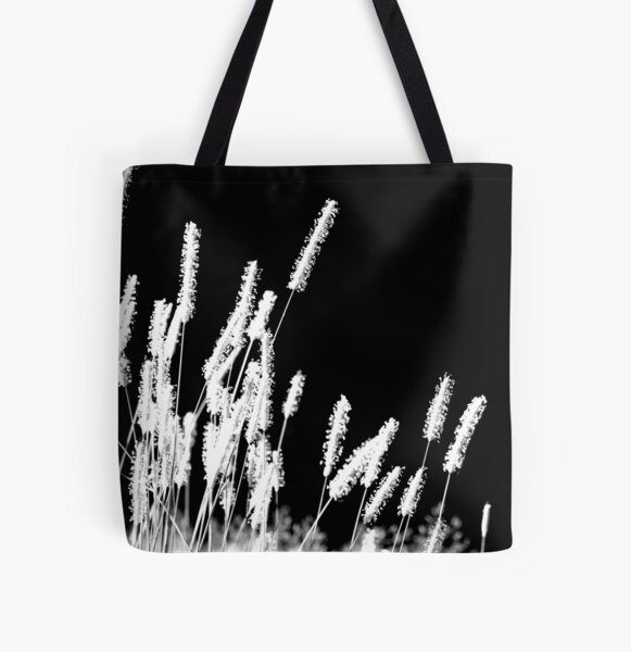 Moonlight Meadowgrass All Over Print Tote Bag