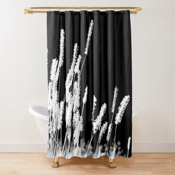 Moonlight Meadowgrass Shower Curtain