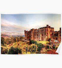 Muncaster Castle Poster
