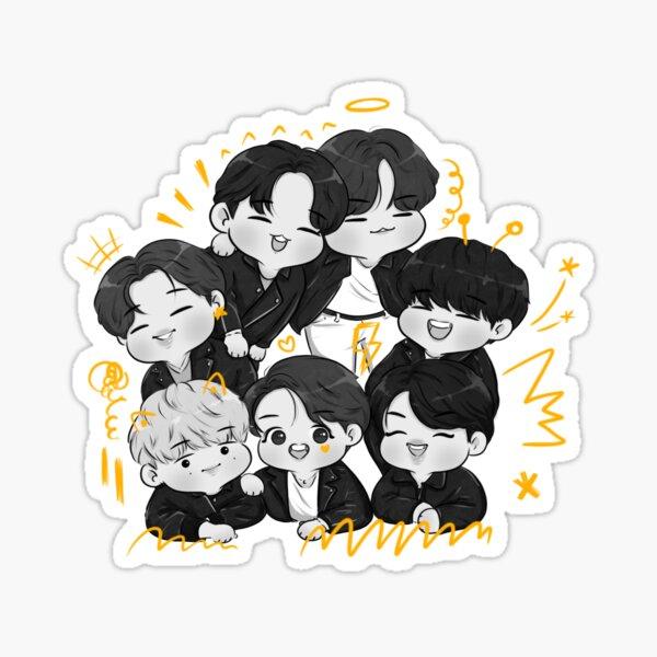 BTS-Mots 7 Concept Photo  Sticker