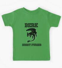 Berk Night Furies Kids Tee
