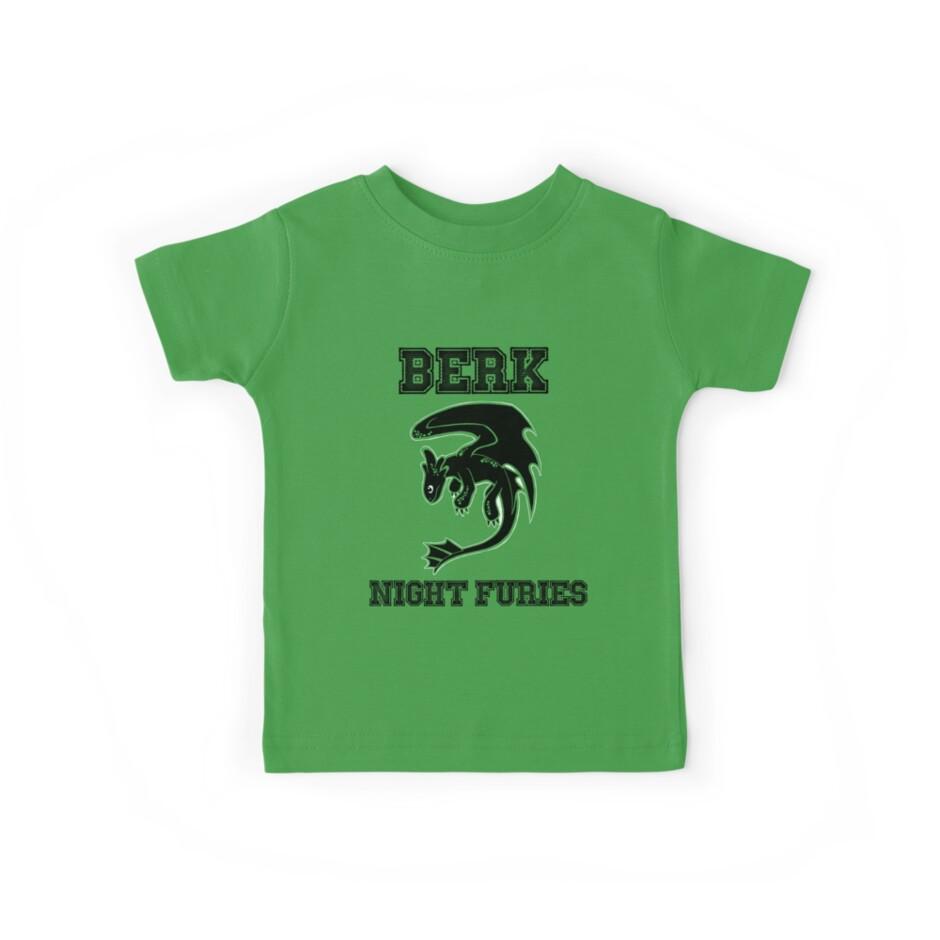 Berk Night Furies by Steve Stivaktis
