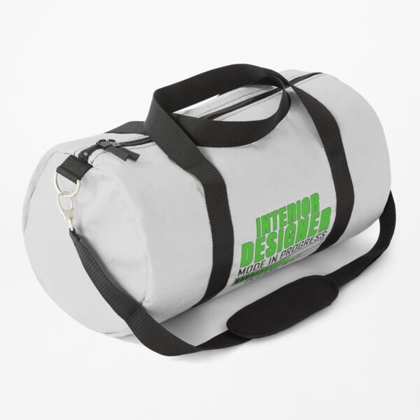 Interior Designer Mode In Progress Funny Design Quote Duffle Bag