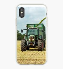 Farm Machinery, Forage Harvesting iPhone Case