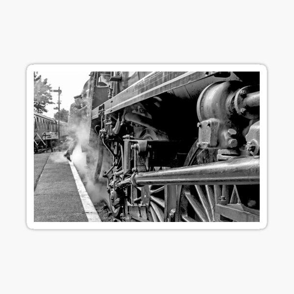 """Steam Engine """"All Aboard"""" Sticker"""
