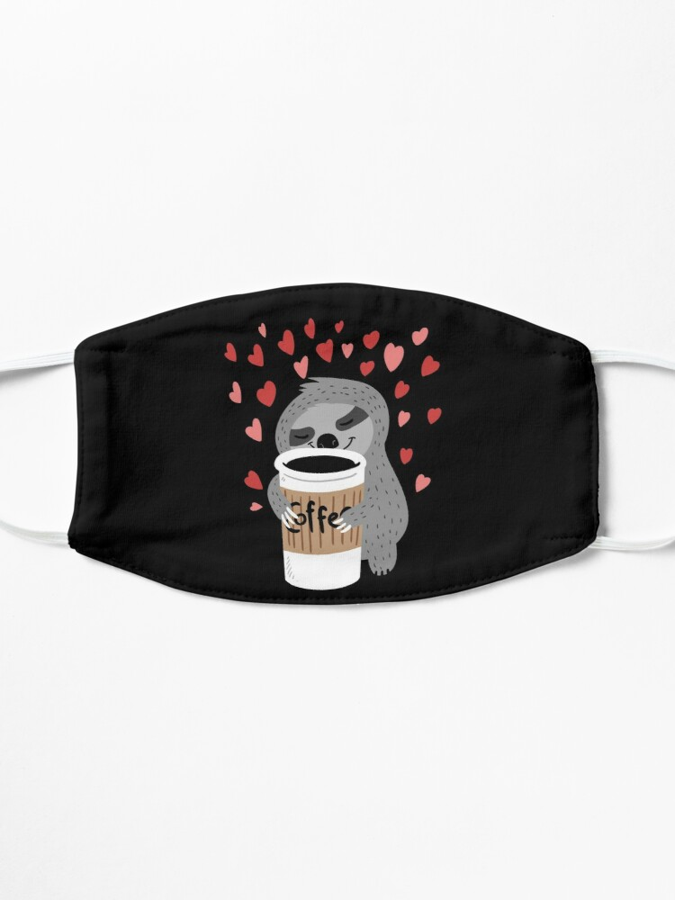 Alternate view of Coffee Sloth Mask