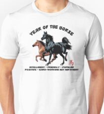 Chinese Zodiac Year of The Horse Unisex T-Shirt
