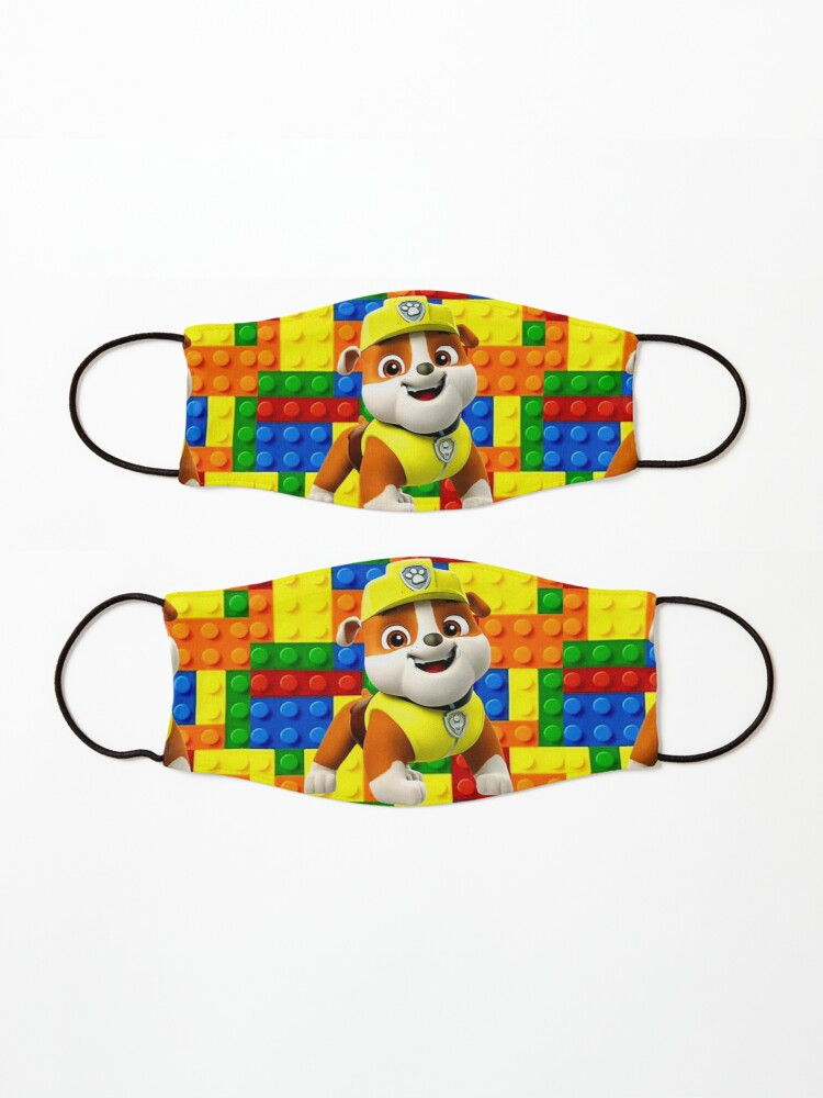 Alternate view of Rubble Paw Patrol  Mask