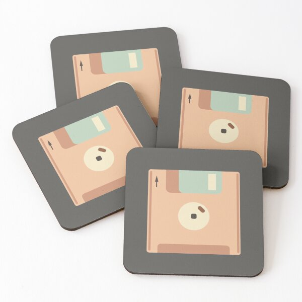 diskette retro Coasters (Set of 4)