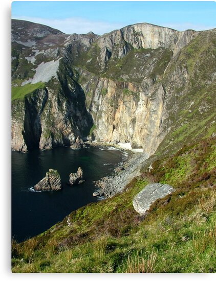 Slieve League Cliffs by Adrian McGlynn