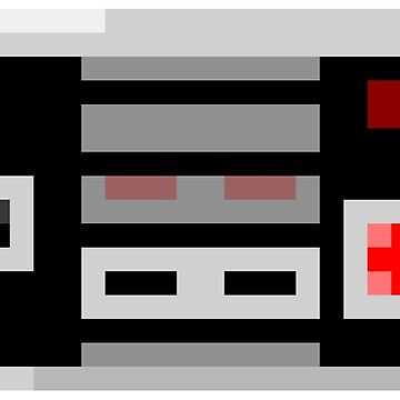 8Bit NES Controller by Awful-Things