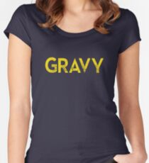 Gravy Women's Fitted Scoop T-Shirt