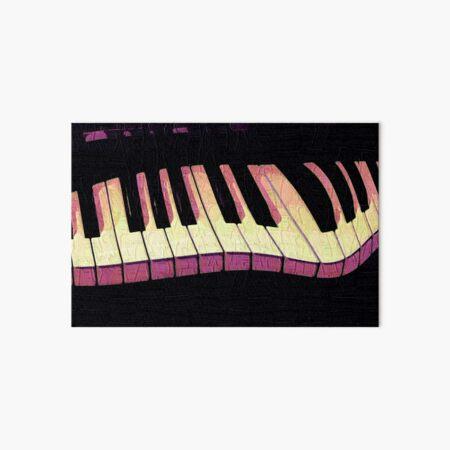 Crazy Piano Art Board Print