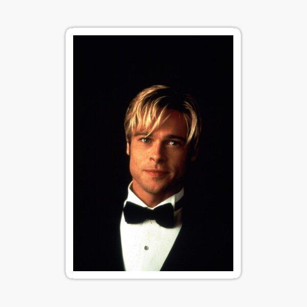 Brad Pitt joven y caliente Pegatina