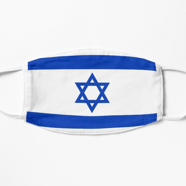 State of Israel Flag, Star of David Mask