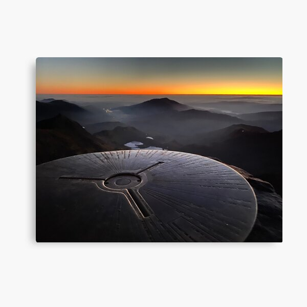 Snowdon Summit Sunrise Canvas Print
