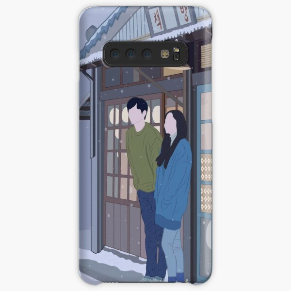 Seo Kang Joon and Park Min Young from When the weather is fine (KDRAMA) Samsung Galaxy Snap Case