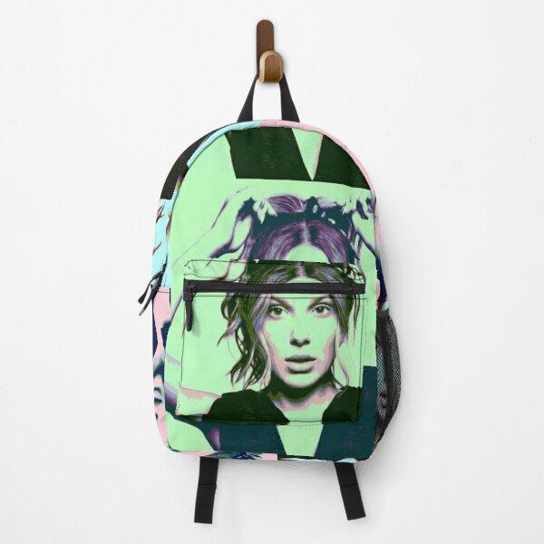 Millie Bobby Brown Pop Art Backpack