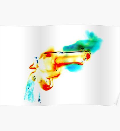 Greek Fire (Negative Edit) Poster
