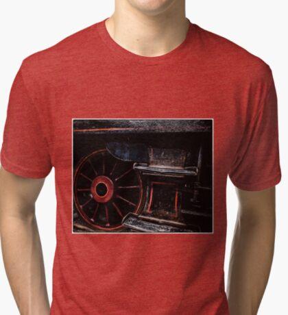 Steam Wheels  Tri-blend T-Shirt