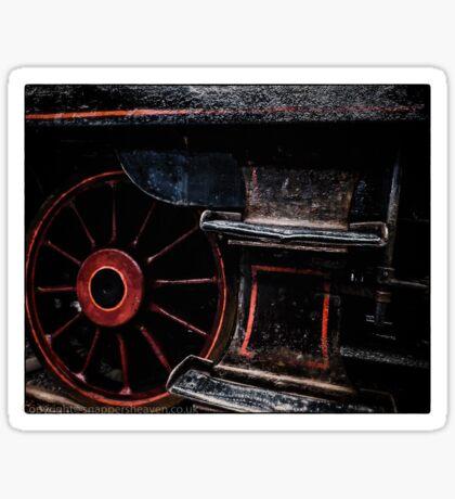 Steam Wheels  Sticker