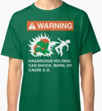 Electric Shock Hazard Classic T-Shirt