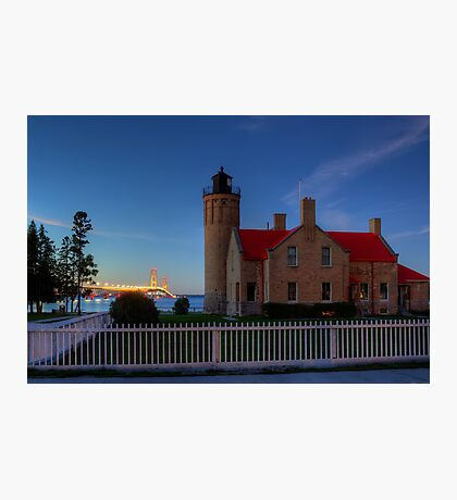 Old Mackinac Point Lighthouse Photographic Print