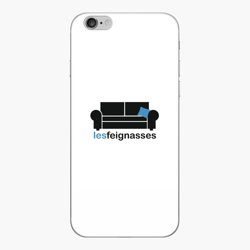 Skin (autocollant) iPhone « Les Feignasses - Collection classique»
