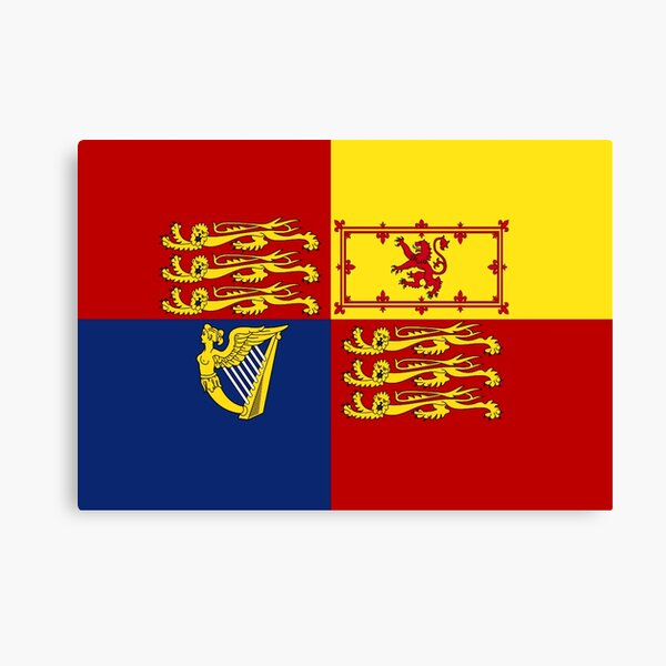 Royal Standard of the United Kingdom Canvas Print