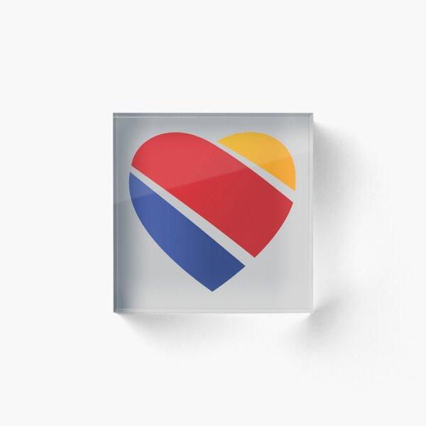 Southwest Airlines (2014) Logo Acrylic Block