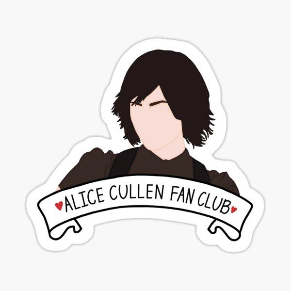 Alice Cullen Fan Club Sticker