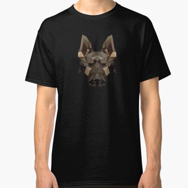 Geometric German Shepherd Classic T-Shirt