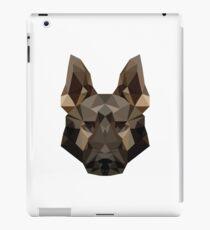 Geometric German Shepherd iPad Case/Skin