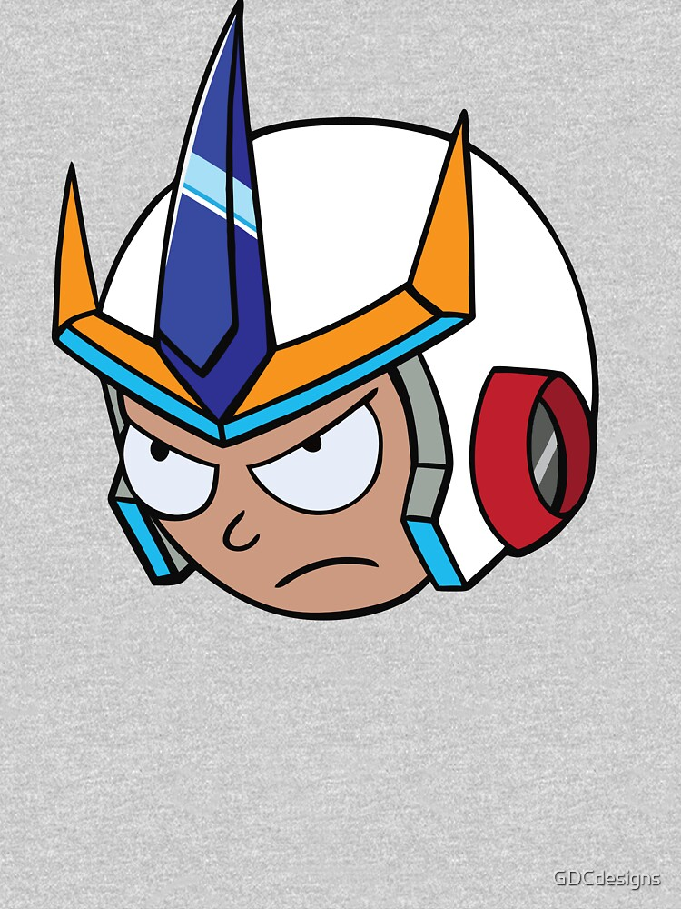 Super Cool Rick and Morty™ Morty Head with Combat Armour Helmet   by GDCdesigns