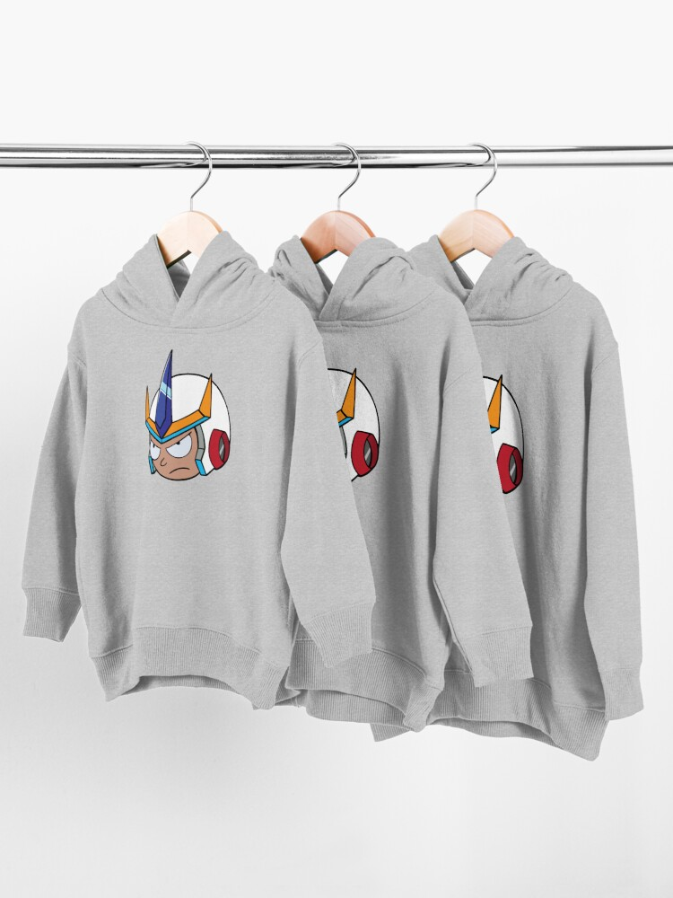 Alternate view of Super Cool Rick and Morty™ Morty Head with Combat Armour Helmet   Toddler Pullover Hoodie